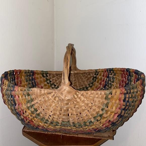 Large Rainbow Basket